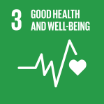 icon for Goal 3 - Good Health and Well-being