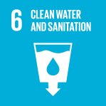 icon for Goal 6 - Clean water and sanitation