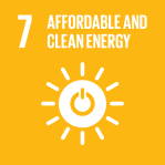 icon for Goal 7 - Affordable and clean energy