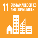icon for Goal 11 - Sustainable Cities & Communities