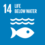 icon for Goal 14 - Life below water